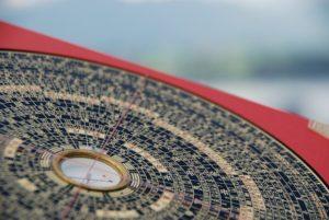 風水羅針盤の写真